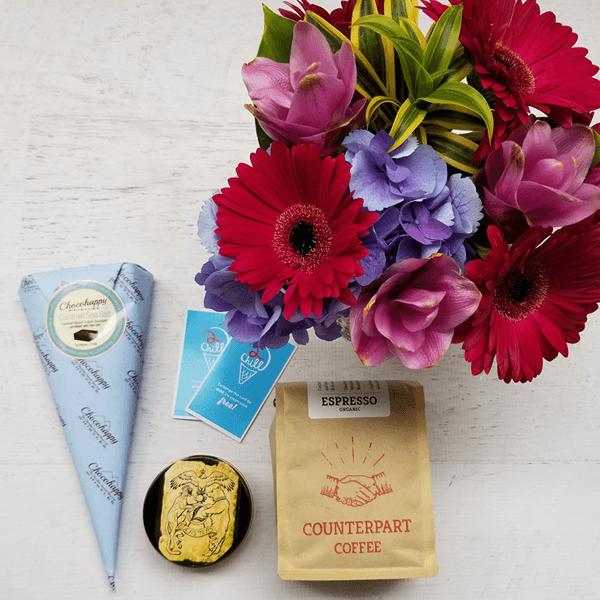 gourmet squamish gift box contents close up