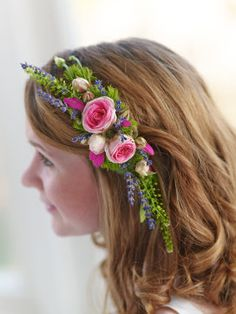 hair comb pink