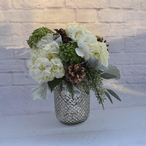west coast christmas vase