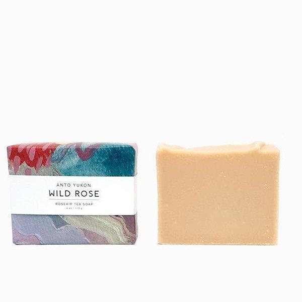 anto yukon wild rose soap