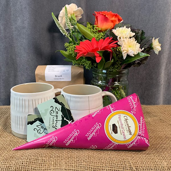 gift basket coffee chocolate