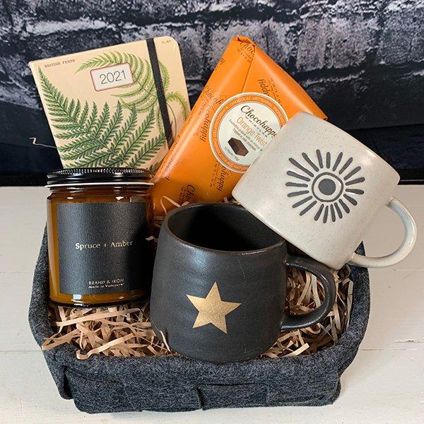 gift basket cozy felt