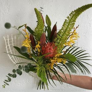 Tropical Sunset Birthday Bouquet