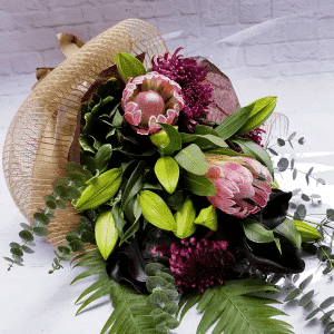 Fragrance & Foliage Birthday Bouquet for Her