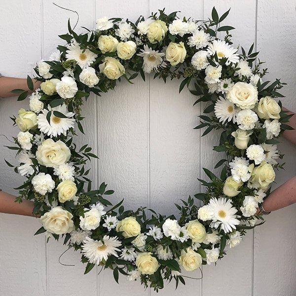 wreath celebration of life