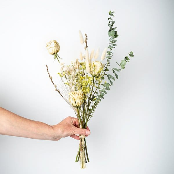 dried bouquet handtied neutral longlasting