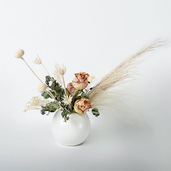 dried vase pastel neutral