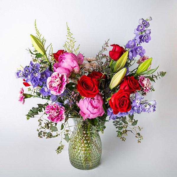 Opulent Vase Arrangement Brights