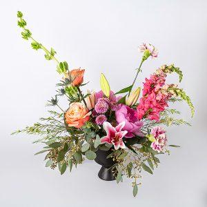 vase arrangment brights