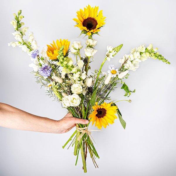 wildflowers wild flowers bouquet yellow